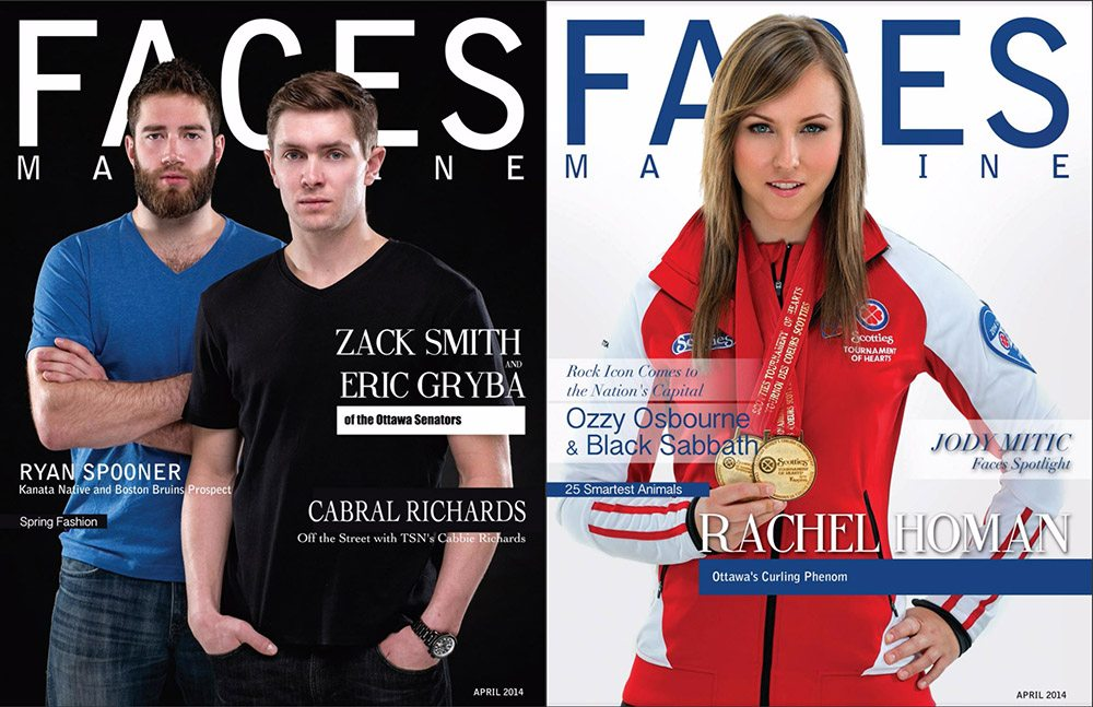 Faces Magazine Ottawa Cover Photos