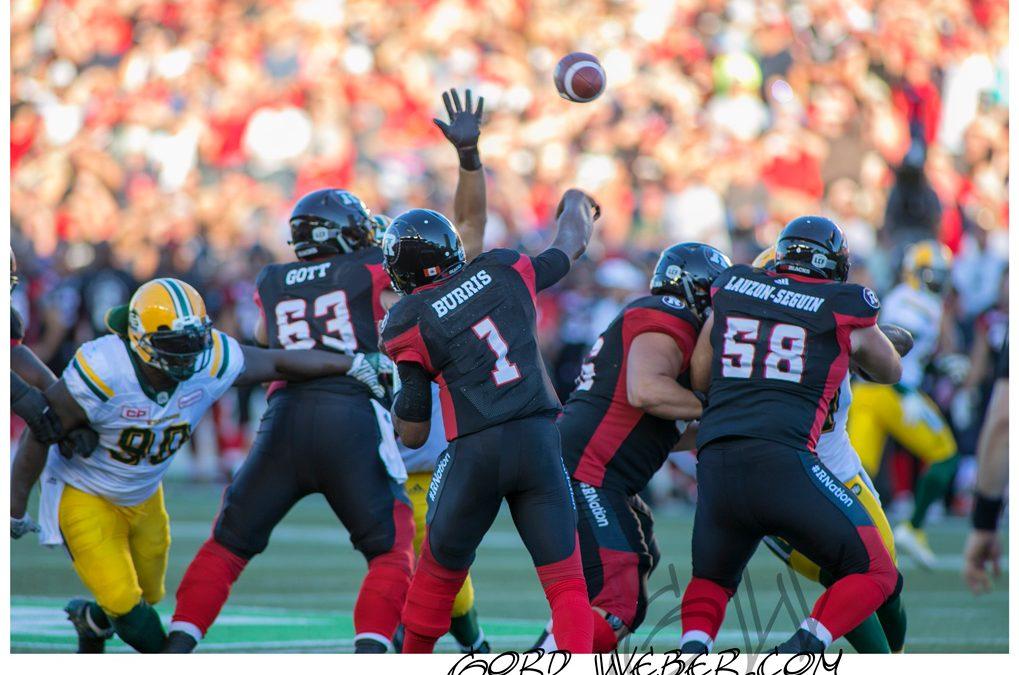 Ottawa Redblacks vs Edmonton Eskimos